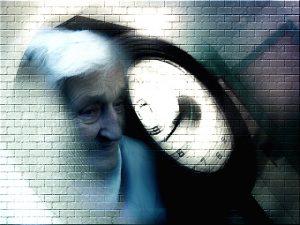 Abbildung 1: Alzheimer-Patientin