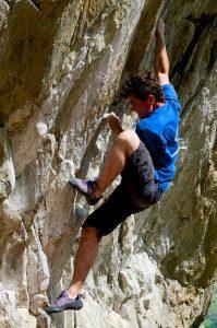 Abbildung 2: Kletterer im Flow