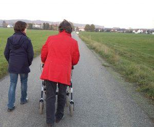 Abb. 3: Auch ein Spaziergang an der frischen Luft bewirkt ab und an Wunder