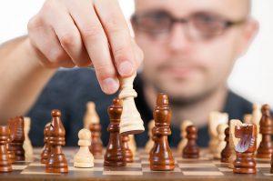 Abb.1: Es gilt stets, den perfekten Schachzug auszuführen